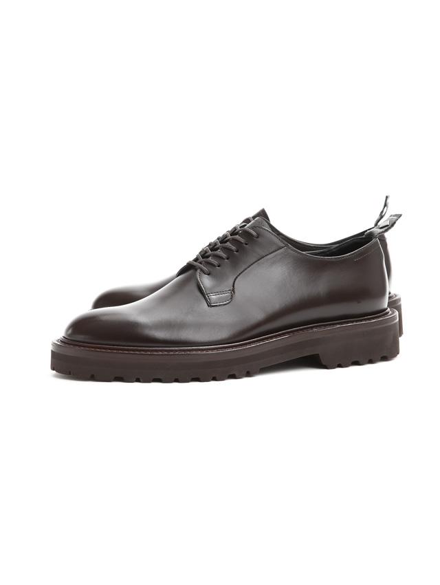 【WH / ダブルエイチ】 【WH-0001(WHS-0001)】 Plane Toe Shoes (干場氏 スペシャル モデル) Cruise Last (クルーズラスト) ANNONAY Vocalou Calf Leather プレーントゥシューズ DARK BROWN (ダークブラウン) MADE IN JAPAN(日本製) 2018 春夏新作   【干場氏、坪内氏の直筆サイン入り】【ZODIAC限定 スペシャルアイテム】