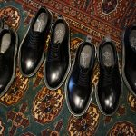 WH (ダブルエイチ) 【WH-0001】 Plane Toe Shoes (干場氏 スペシャル モデル) Cruise Last (クルーズラスト) ANNONAY Vocalou Calf Leather プレーントゥシューズ BLACK (ブラック) MADE IN JAPAN(日本製) 2018 春夏新作   【干場氏、坪内氏の直筆サイン入り】【ZODIAC限定 スペシャルアイテム】のイメージ