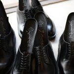 WH (ダブルエイチ) 【WH-0001(WHS-0001)】 Plane Toe Shoes (干場氏 スペシャル モデル) Cruise Last (クルーズラスト) ANNONAY Vocalou Calf Leather プレーントゥシューズ BLACK (ブラック) MADE IN JAPAN(日本製) 2018 春夏新作   【干場氏、坪内氏の直筆サイン入り】【Alto e Diritto限定 スペシャルアイテム】のイメージ