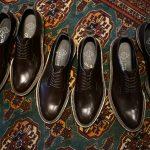 WH (ダブルエイチ) 【WH-0001(WHS-0001)】 Plane Toe Shoes (干場氏 スペシャル モデル) Cruise Last (クルーズラスト) ANNONAY Vocalou Calf Leather プレーントゥシューズ DARK BROWN (ダークブラウン) MADE IN JAPAN(日本製) 2018 春夏新作   【干場氏、坪内氏の直筆サイン入り】【ZODIAC限定 スペシャルアイテム】のイメージ