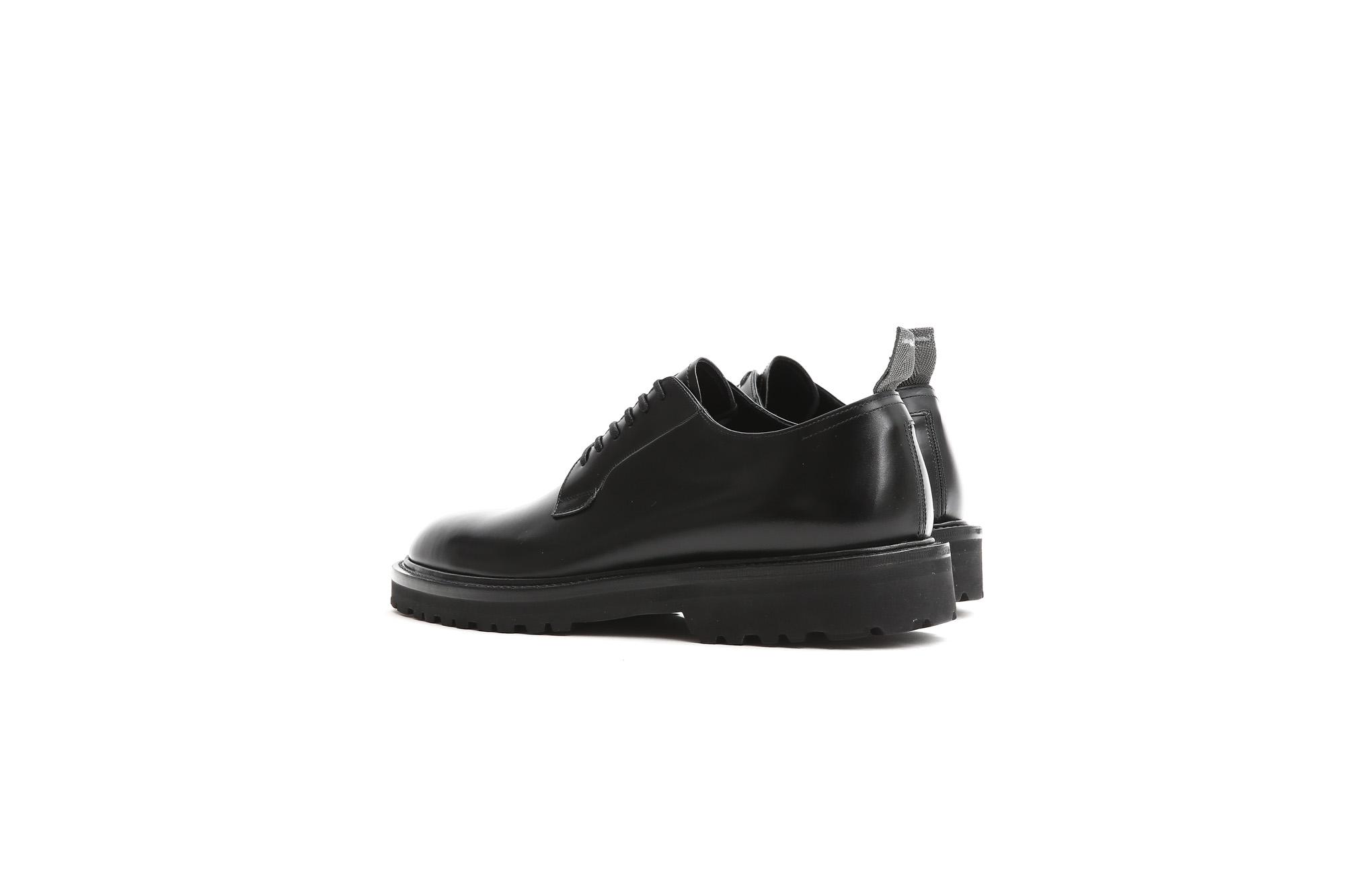 【WH / ダブルエイチ】 【WH-0001(WHS-0001)】 Plane Toe Shoes (干場氏 スペシャル モデル) Cruise Last (クルーズラスト) ANNONAY Vocalou Calf Leather プレーントゥシューズ BLACK (ブラック) MADE IN JAPAN(日本製) 2018 春夏新作   【干場氏、坪内氏の直筆サイン入り】【ZODIAC限定 スペシャルアイテム】 wh 干場さん 干場スペシャル FORZASTYLE フォルザスタイル 愛知 名古屋 ZODIAC ゾディアック