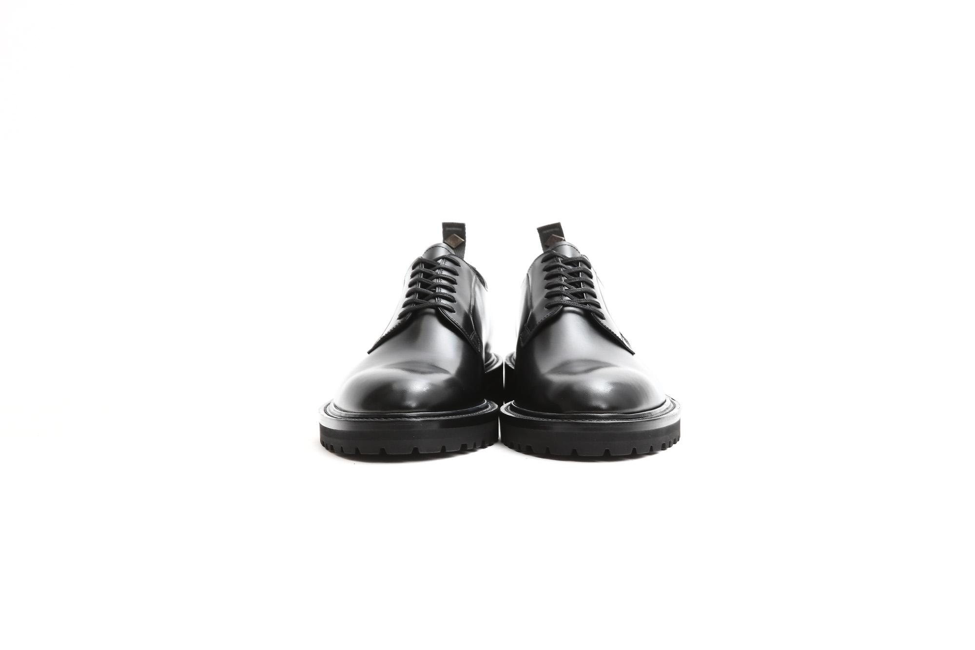 【WH / ダブルエイチ】 【WH-0001(WHS-0001)】 Plane Toe Shoes (干場氏 スペシャル モデル) Cruise Last (クルーズラスト) ANNONAY Vocalou Calf Leather プレーントゥシューズ BLACK (ブラック) MADE IN JAPAN(日本製) 2018 春夏新作   【干場氏、坪内氏の直筆サイン入り】【Alto e Diritto限定 スペシャルアイテム】 wh 干場さん 干場スペシャル FORZASTYLE フォルザスタイル 愛知 名古屋 Alto e Diritto アルト エ デリット