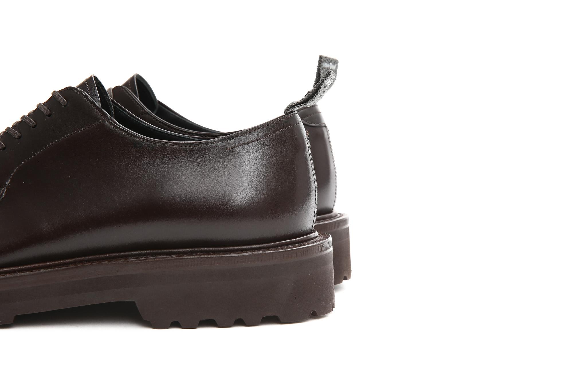 【WH / ダブルエイチ】 【WH-0001(WHS-0001)】 Plane Toe Shoes (干場氏 スペシャル モデル) Cruise Last (クルーズラスト) ANNONAY Vocalou Calf Leather プレーントゥシューズ DARK BROWN (ダークブラウン) MADE IN JAPAN(日本製) 2018 春夏新作   【干場氏、坪内氏の直筆サイン入り】【ZODIAC限定 スペシャルアイテム】 wh 干場さん 干場スペシャル FORZASTYLE フォルザスタイル 愛知 名古屋 ZODIAC ゾディアック