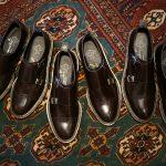 WH (ダブルエイチ) 【WH-0300(WHS-0300)】 Double Monk Strap Shoes (干場氏 スペシャル モデル) Cruise Last (クルーズラスト) ダブルモンクストラップシューズ DARK BROWN (ダークブラウン) MADE IN JAPAN (日本製) 2018 春夏新作   【干場氏、坪内氏の直筆サイン入り】【Alto e Diritto限定 スペシャルアイテム】のイメージ