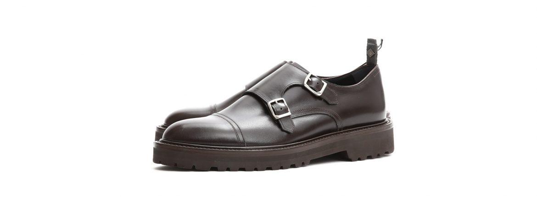 【WH / ダブルエイチ】 【WH-0300(WHS-0300)】 Double Monk Strap Shoes (干場氏 スペシャル モデル) Cruise Last (クルーズラスト) ダブルモンクストラップシューズ DARK BROWN (ダークブラウン) MADE IN JAPAN (日本製) 2018 春夏新作 【干場氏、坪内氏の直筆サイン入り】【ZODIAC限定 スペシャルアイテム】 wh 干場さん 干場スペシャル FORZASTYLE フォルザスタイル 愛知 名古屋 ZODIAC ゾディアック