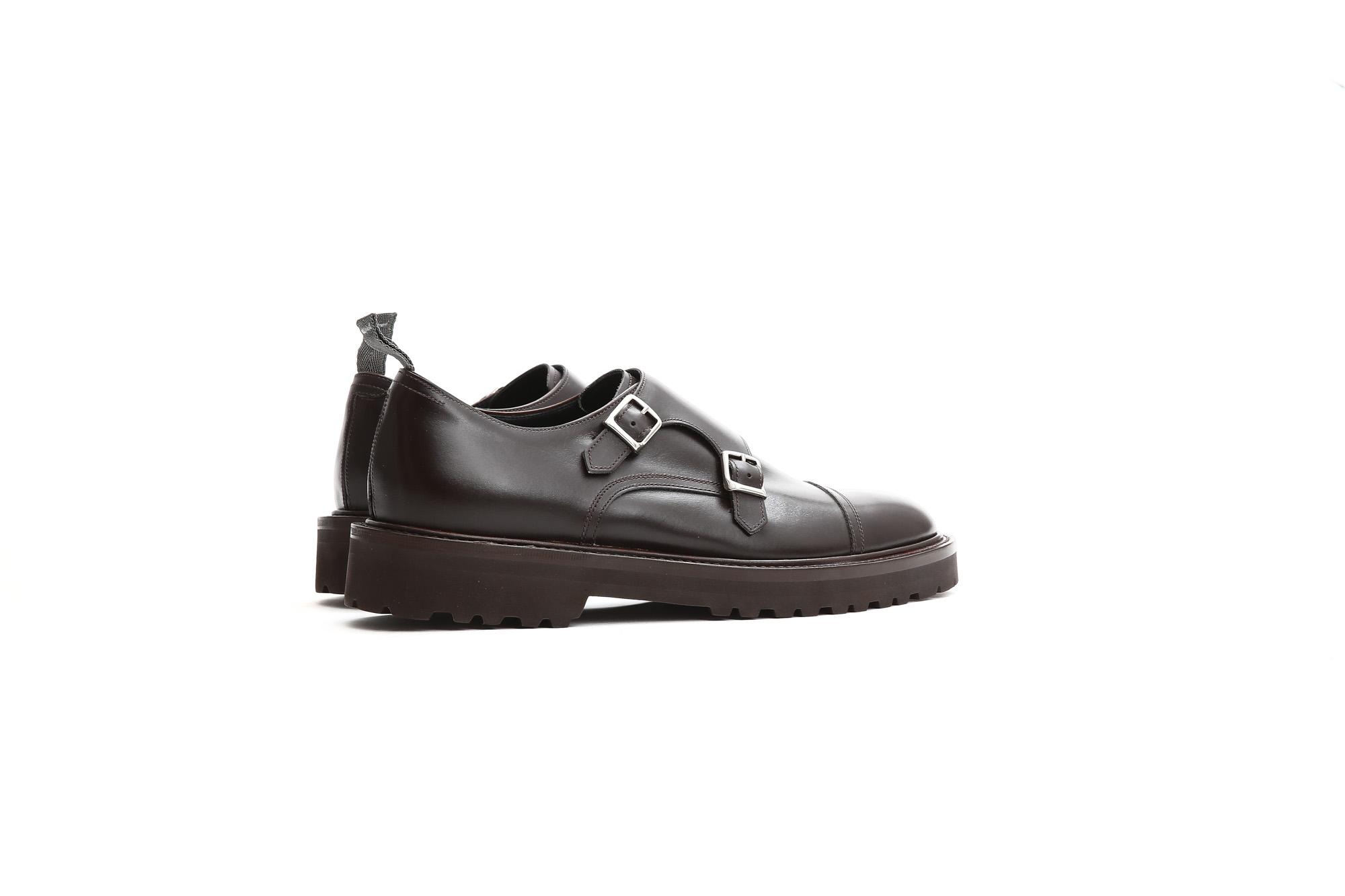 【WH / ダブルエイチ】 【WH-0300(WHS-0300)】 Double Monk Strap Shoes (干場氏 スペシャル モデル) Cruise Last (クルーズラスト) ダブルモンクストラップシューズ DARK BROWN (ダークブラウン) MADE IN JAPAN (日本製) 2018 春夏新作   【干場氏、坪内氏の直筆サイン入り】【Alto e Diritto限定 スペシャルアイテム】 wh 干場さん 干場スペシャル FORZASTYLE フォルザスタイル 愛知 名古屋 Alto e Diritto アルト エ デリット