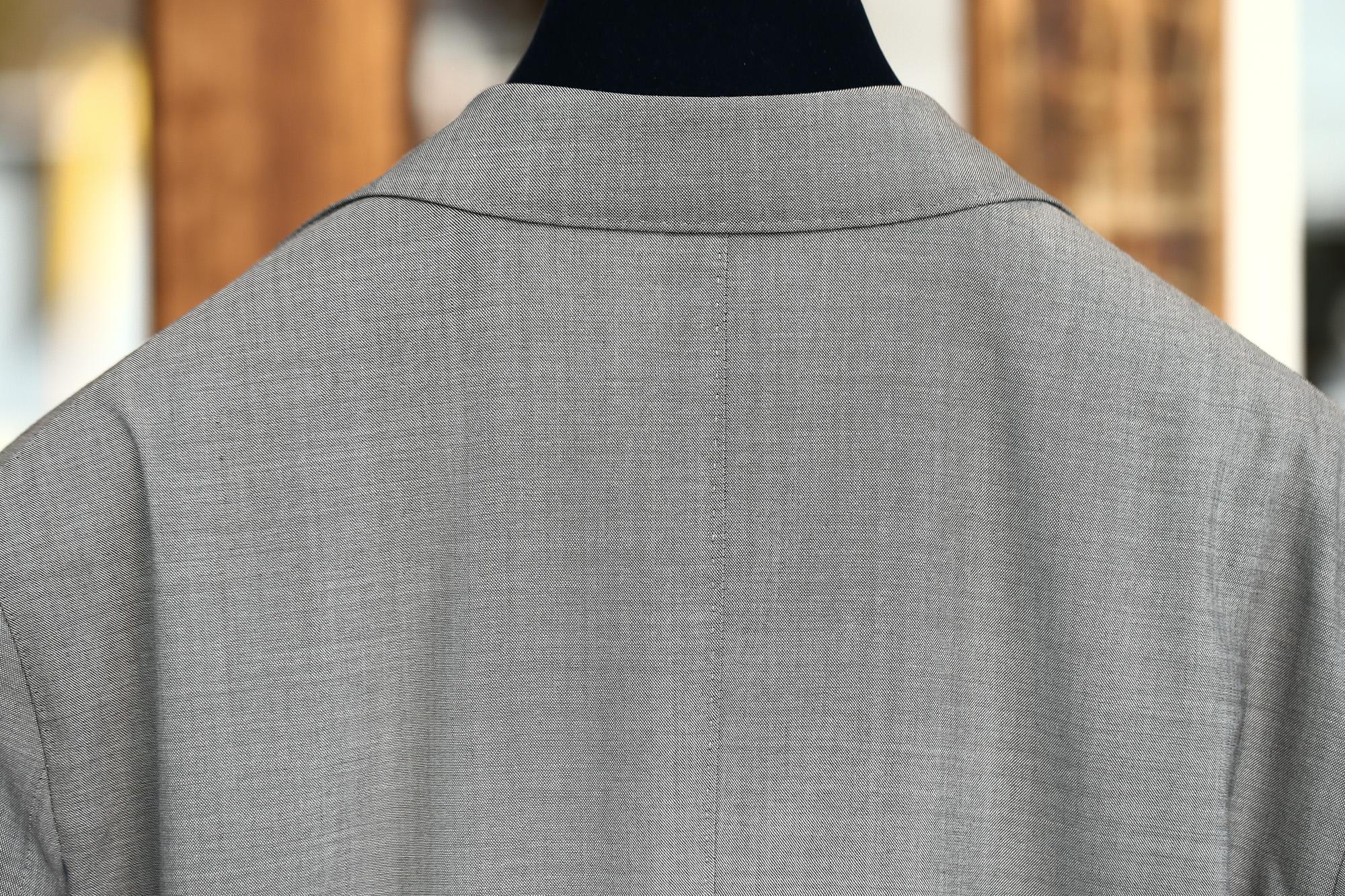 BOGLIOLI MILANO (ボリオリ ミラノ) K.JACKET (Kジャケット) ストレッチ サマーウール 3B スーツ GRAY (グレー・33) Made in italy (イタリア製) 2018 春夏新作 boglioli ボリオリ 愛知 名古屋 ZODIAC ゾディアック