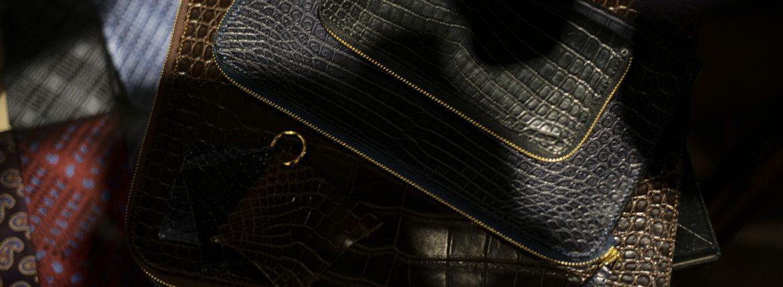 Cisei(シセイ) // Crocodile クロコダイル 愛知 名古屋 ZODIAC ゾディアック クロコ クラッチバック トートバック ドキュメントケース ウォレット ブリーフケース