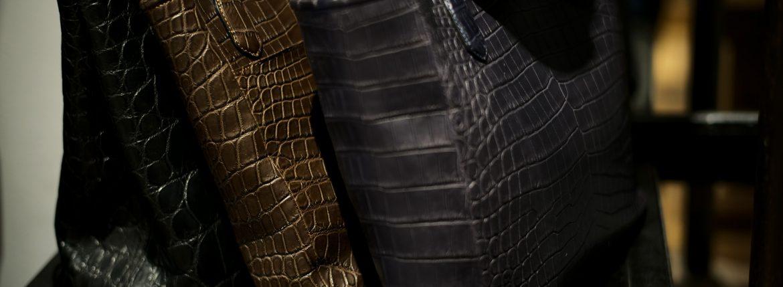 Cisei(シセイ) // Crocodile クロコダイル 愛知 名古屋 ZODIAC ゾディアック クロコ クラッチバック トートバック ドキュメントケース ウォレット ブリーフケース 山本製鞄wallet clutchbag totebag
