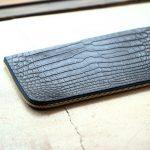 Cisei × 山本製鞄 (シセイ × 山本製鞄) Crocodile Document Case Small (クロコダイル ドキュメントケース スモール) Nile Crocodile Leather (ワニ革) ナイル クロコダイル クラッチバッグ BLACK(ブラック),NAVY(ネイビー),BROWN(ブラウン)  Made in Japan (日本製)のイメージ