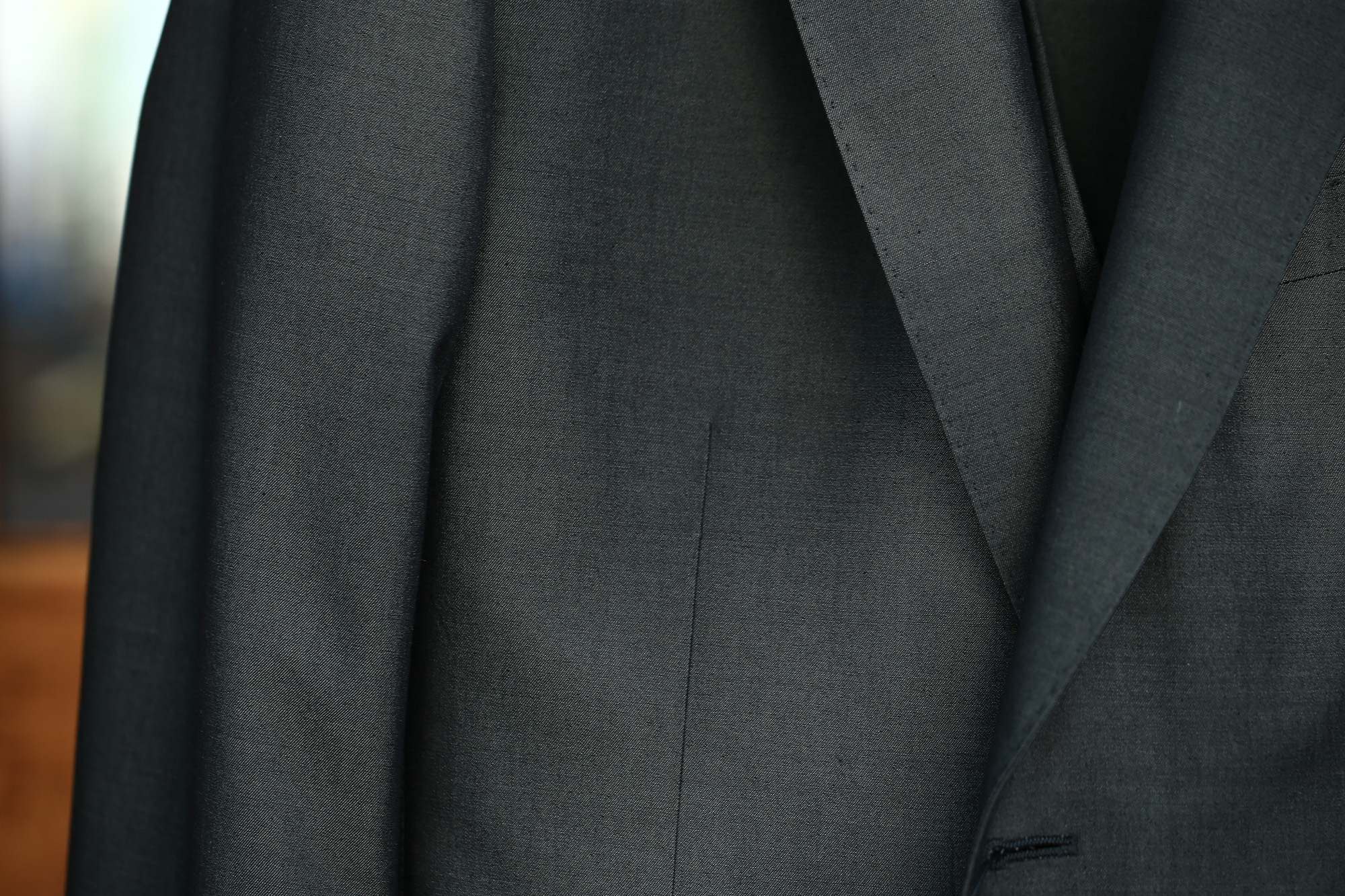 GABRIELE PASINI (ガブリエレ パジーニ) LONDON (ロンドン) サマーコットンウール 3P スーツ BLACK (ブラック・771) 2018 春夏新作 gabrielepasini ガブリエレパジーニ  スーツ 愛知 名古屋 Alto e Diritto アルト エ デリット