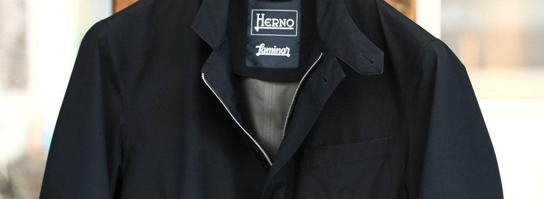 HERNO (ヘルノ) GA0008U LAMINAR Stand Neck Jacket (ラミナー スタンドネック ジャケット) GORE-TEX (ゴアテックス) ナイロンジャケット BLACK (ブラック・9300) 2018 春夏新作のイメージ