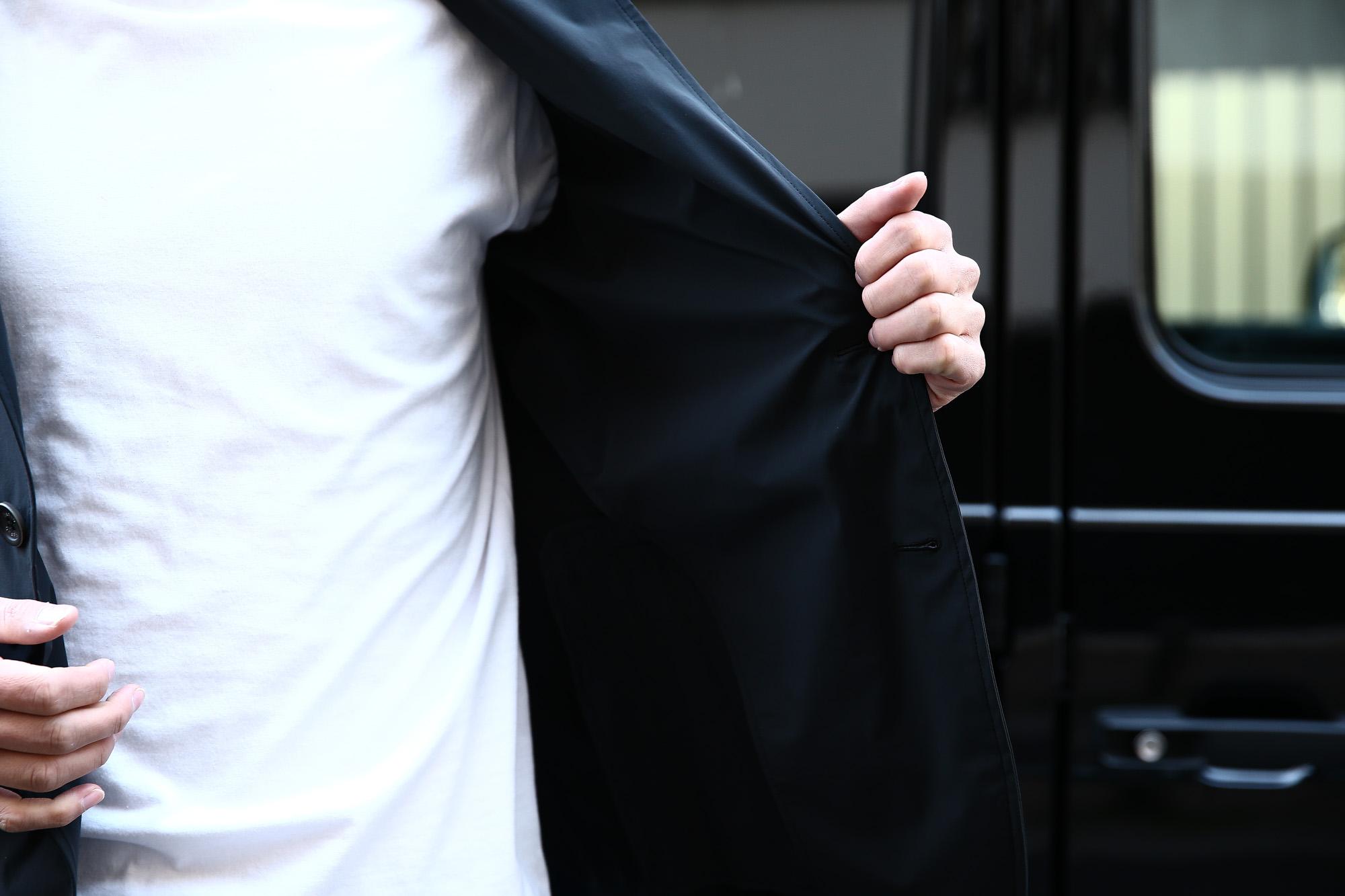 HERNO(ヘルノ) 【GA0069U】 Stretch Nylon Jacket (ストレッチ ナイロン ジャケット) 撥水ナイロン 2Bジャケット BLACK (ブラック・9300) Made in italy (イタリア製) 2018 春夏新作 愛知 名古屋 herno ヘルノ ZODIAC ゾディアック 42,44,46,48,50,52,54