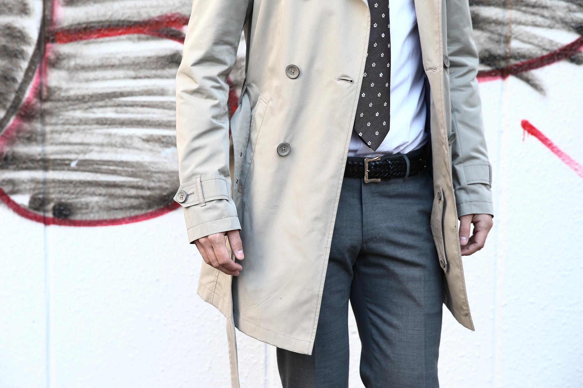 【HERNO / ヘルノ】 IM0127U Rain Collection Trench coat (レインコレクション トレンチコート) 撥水 ダブルブレスト トレンチコート BEIGE (ベージュ・2750) Made in italy (イタリア製) 2018 春夏新作  herno ヘルノ 愛知 名古屋 ZODIAC ゾディアック トレンチ