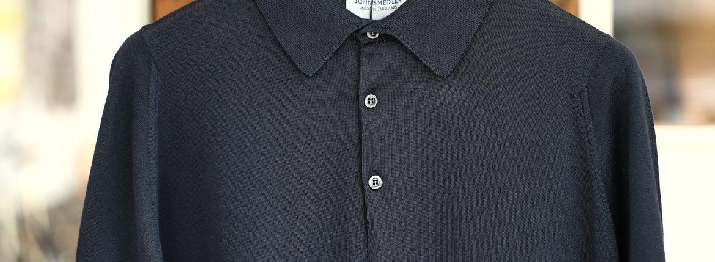 JOHN SMEDLEY ジョンスメドレー S3798 Polo Shirt SEA ISLAND COTTON シーアイランドコットン ポロシャツ FLANNEL GREY (フランネルグレー) イギリス製 2018 春夏新作のイメージ