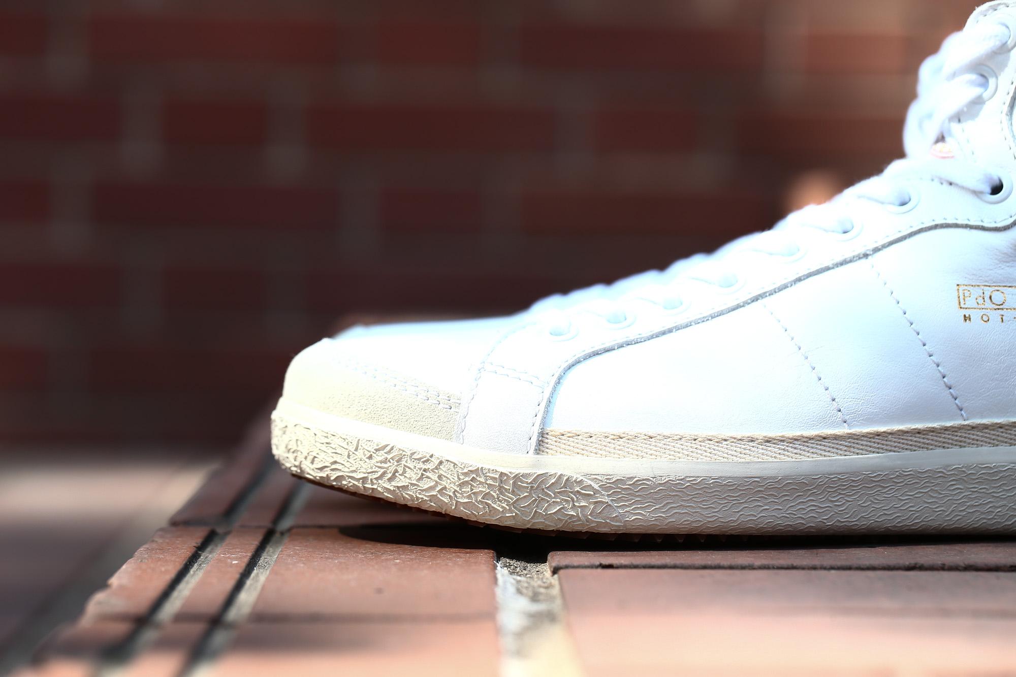 Pantofola d'Oro (パントフォラドーロ) CLASSICO PG75 CALF LEATHERカーフレザー ハイカット レザースニーカー WHITE (ホワイト・WHT) made in italy (イタリア製) 2018 春夏新作 pantofoladoro パントフォラドーロ pg75 ハイカットスニーカー 愛知 名古屋 ZODIAC ゾディアック  シューズ 靴