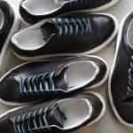 PATRICK (パトリック) CRUISE LINE クルーズライン GENOVA-PTN (ジェノバ パティーヌ) Steer Patine Leather (ステア パティーヌ レザー) ローカット スニーカー BLUE (ブルー・B/G) MADE IN JAPAN(日本製) 2018 春夏新作のイメージ
