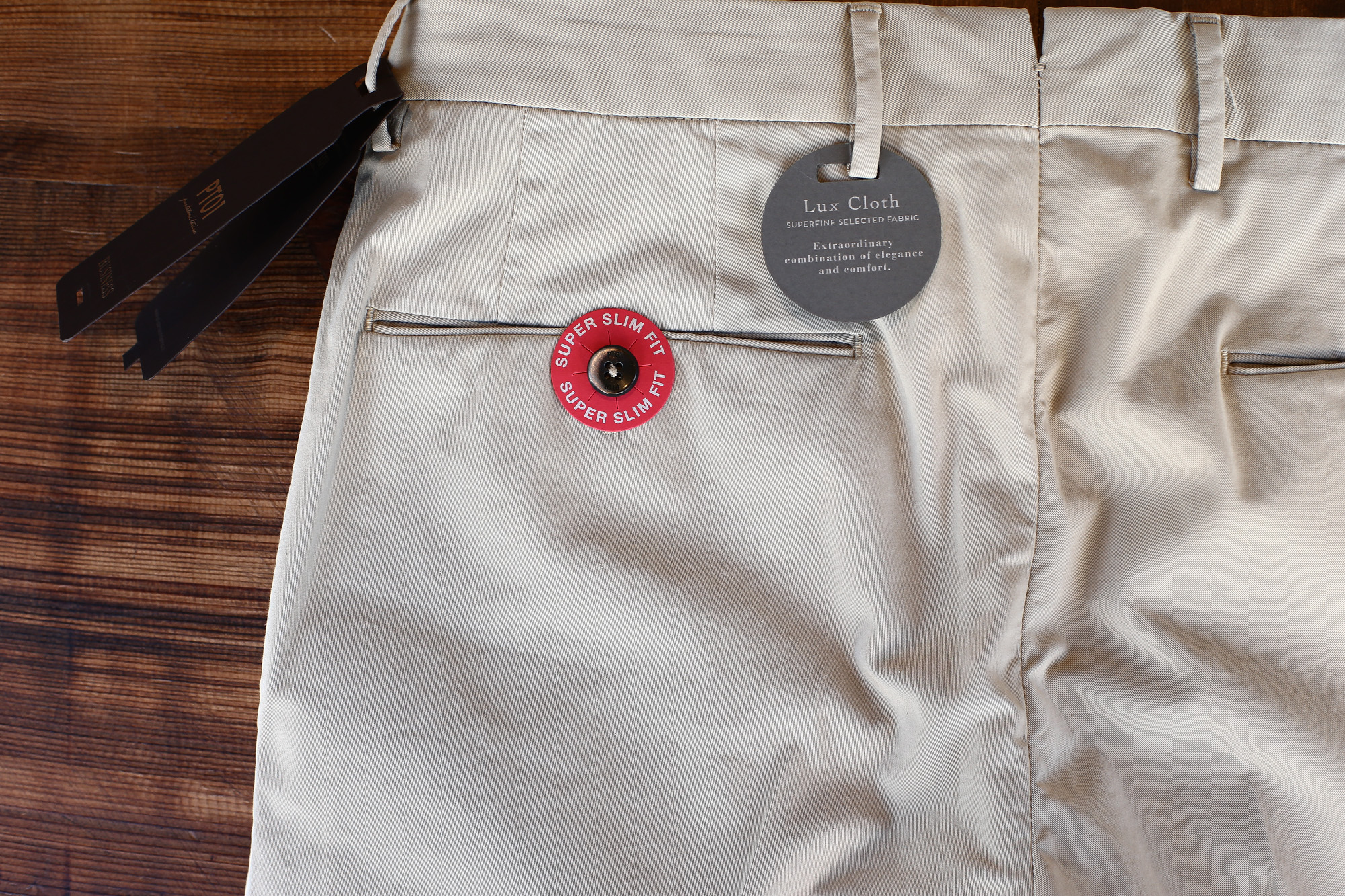 PT01 (ピーティーゼロウーノ) BUSINESS (ビジネス) SUPER SLIM FIT (スーパースリムフィット) Lux Cloth ストレッチ コットン スラックス パンツ BEIGE (ベージュ・0040)  2018 春夏新作 pt01 チノ チノパン チノスラックス 愛知 名古屋 Alto e Diritto アルト エ デリット