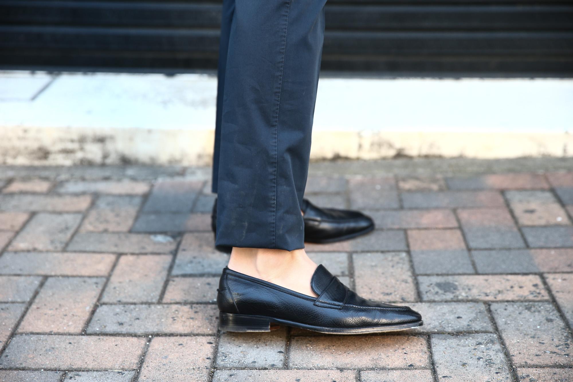 PT01 (ピーティーゼロウーノ) BUSINESS (ビジネス) SUPER SLIM FIT (スーパースリムフィット) Lux Cloth ストレッチ コットン スラックスパンツ NAVY (ネイビー・0360) 2018 春夏新作 pt01 チノ チノパン チノスラックス 愛知 名古屋 Alto e Diritto アルト エ デリット