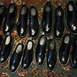 WH(ダブルエイチ) WH-0006(WHS-0006) Plane Toe Shoes  (干場氏 スペシャル モデル) Birdie Last(バーディラスト) ANNONAY Vocalou Calf Leather プレーントゥ シューズ BLACK(ブラック) MADE IN JAPAN(日本製) 2018 春夏新作 【干場氏、坪内氏の直筆サイン入り】【ZODIAC限定 スペシャルアイテム】
