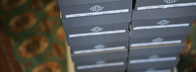 WH(ダブルエイチ) WH-0006(WHS-0006) Plane Toe Shoes (干場氏 スペシャル モデル) Birdie Last(バーディラスト) ANNONAY Vocalou Calf Leather プレーントゥ シューズ BLACK(ブラック) MADE IN JAPAN(日本製) 2018 春夏新作 【干場氏、坪内氏の直筆サイン入り】【ZODIAC限定 スペシャルアイテム】 wh 干場さん 干場スペシャル FORZASTYLE フォルザスタイル 愛知 名古屋 ZODIAC ゾディアック