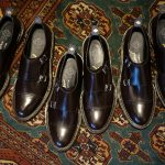 WH (ダブルエイチ) WH-0300(WHS-0300) Double Monk Strap Shoes (干場氏 スペシャル モデル) Cruise Last (クルーズラスト) ダブルモンクストラップシューズ DARK BROWN (ダークブラウン) MADE IN JAPAN (日本製) 2018 春夏新作   【干場氏、坪内氏の直筆サイン入り】【ZODIAC限定 スペシャルアイテム】