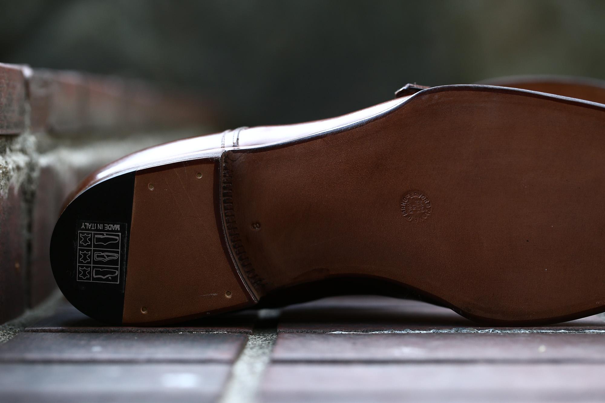 ENZO BONAFE (エンツォボナフェ) ART.EB-27 Double Monk Strap Shoes Horween Shell Cordovan Leather ホーウィン社シェルコードバンレザー ダブルモンクストラップシューズ BOURBON (バーボン) made in italy (イタリア製) 2018 春夏新作 enzobonafe ダブルモンク ドレス ボナフェ レザーシューズ 愛知 名古屋 Alto e Diritto アルト エ デリット