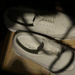 HIROSHI TSUBOUCHI (ヒロシツボウチ) Wingtip Sneakers ウィングチップ スニーカー WHITE (ホワイト・WH) Made in Japan (日本製) 2018 春夏新作のイメージ