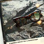 JACQUESMARIEMAGE (ジャックマリーマージュ) DEALAN RX (ディランRX) Bob Dylan (ボブ・ディラン) 18K GOLD ゴールドパーツ ウェリントン型 アイウェア サングラス HAVANA (ハバナ) HANDCRAFTED IN JAPAN(日本製) 2018 春夏新作のイメージ