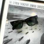 JACQUESMARIEMAGE (ジャックマリーマージュ) DEALAN (ディラン) Bob Dylan (ボブ・ディラン) STERLING SILVER スターリングシルバー ウェリントン型 アイウェア サングラス NOIR 2 (ノワール2) HANDCRAFTED IN JAPAN(日本製) 2018 春夏新作のイメージ
