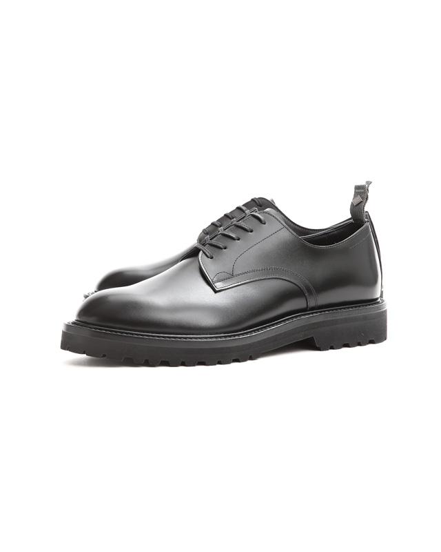 WH(ダブルエイチ) WH-0006(WHS-0006) Plane Toe Shoes  (干場氏 スペシャル モデル) Birdie Last(バーディラスト) ANNONAY Vocalou Calf Leather プレーントゥ シューズ BLACK(ブラック) MADE IN JAPAN(日本製) 2018 春夏新作 【干場氏、坪内氏の直筆サイン入り】【Alto e Diritto限定 スペシャルアイテム】【9月上旬入荷分ご予約受付中】【10月上旬入荷分ご予約受付中】【11月上旬入荷分ご予約受付中】
