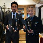 WH (ダブルエイチ) 【WH-0300(WHS-0300)】 Double Monk Strap Shoes (干場氏 スペシャル モデル) Cruise Last (クルーズラスト) ダブルモンクストラップシューズ DARK BROWN(ダークブラウン) MADE IN JAPAN (日本製) 2018 春夏新作 【干場氏、坪内氏の直筆サイン入り】【Alto e Diritto限定 スペシャルアイテム】のイメージ
