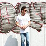 WORN FREE (ウォーンフリー) FLIPPER Nirvana(ニルヴァーナ) Kurt Cobain(カート・コバーン) 1991 NEW YORK プリントTシャツ バンドTシャツ  ロックTシャツ WHITE (ホワイト) MADE IN USA (アメリカ製) 2018春夏新作のイメージ