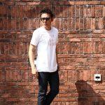 WORN FREE(ウォーンフリー) PASSION IS A FASHION The Clash(ザ・クラッシュ) Joe Strummer(ジョー・ストラマー) 1977 NEW YORK プリントTシャツ バンドTシャツ ロックTシャツ WHITE(ホワイト) MADE IN USA (アメリカ製) 2018春夏新作のイメージ
