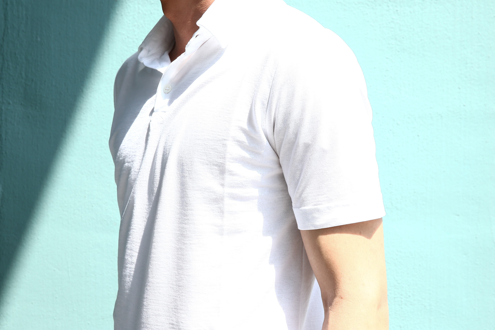 ZANONE (ザノーネ) Polo Shirt ice cotton アイスコットン ポロシャツ WHITE (ホワイト・Z0001) made in italy (イタリア製) 2018 春夏新作 愛知 名古屋 ZODIAC ゾディアック ポロ ニットポロ