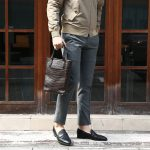 Cisei × 山本製鞄 (シセイ × 山本製鞄) Crocodile Tote Bag Small (クロコダイル トートバッグ スモール) Nile Crocodile Leather (ワニ革) ナイル クロコダイル トート バッグ BLACK(ブラック),NAVY(ネイビー),BROWN(ブラウン) Made in Japan (日本製)のイメージ