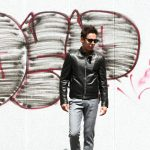 EMMETI (エンメティ) ANDREA (アンドレア) Lambskin Nappa Leather ラムナッパレザー 中綿入り シングル ライダース ジャケット NERO (ブラック・190/1) Made in italy (イタリア製) 2018 秋冬 【ご予約受け付け中】のイメージ