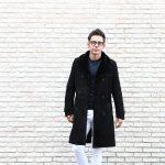 EMMETI (エンメティ) WILL (ウィル) Merino Mouton (メリノ ムートン) ダブルブレスト ムートンコート NERO (ブラック) Made in italy (イタリア製) 2018 秋冬 【ご予約受付中】のイメージ