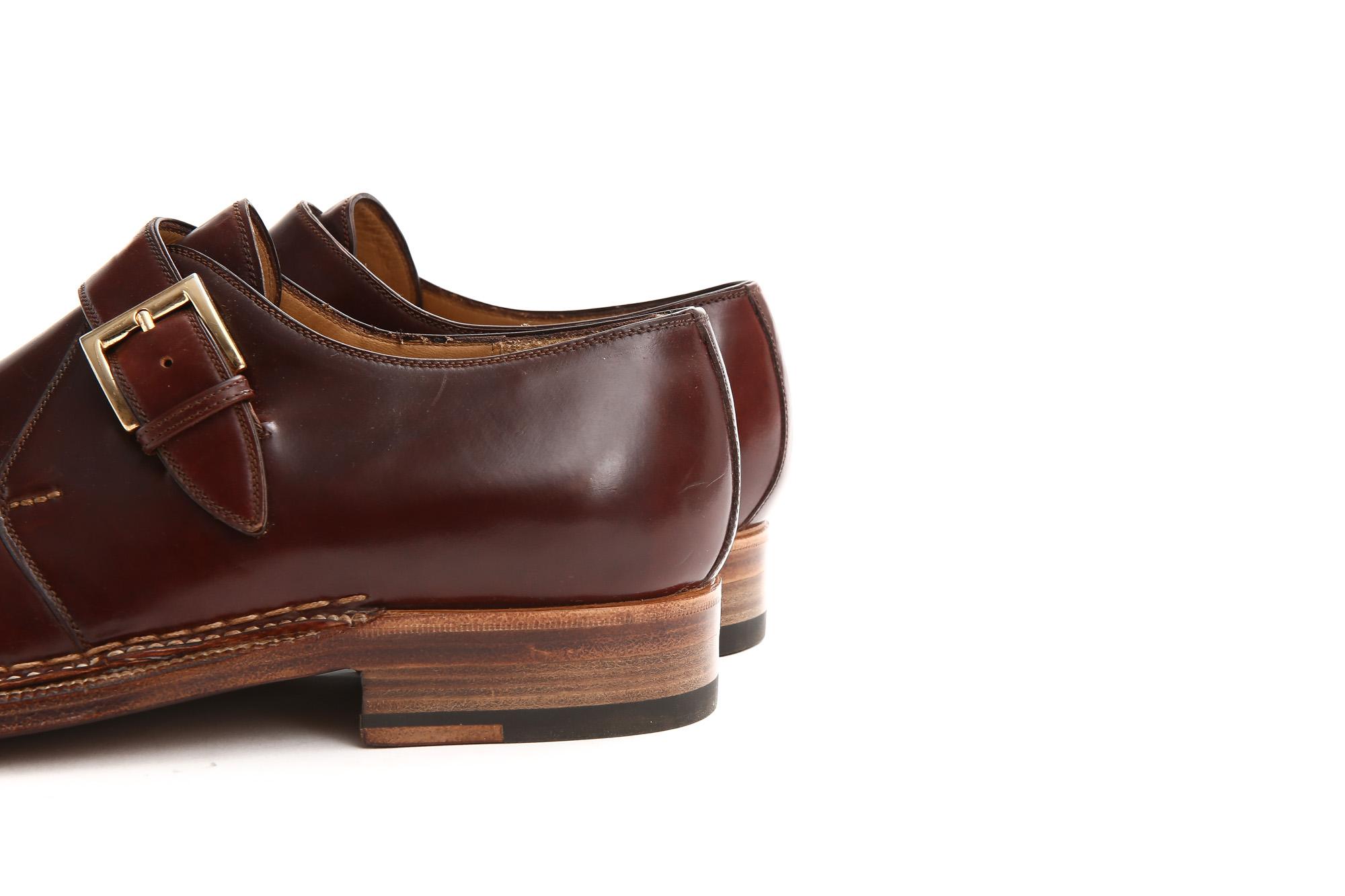 ENZO BONAFE (エンツォボナフェ) 【ART.3721】Single Monk Strap Shoes シングルモンクストラップシューズ CORDOVAN コードバン ノルベジェーゼ製法 ドレスシューズ No.4(#4) made in italy (イタリア製) 2018 春夏新作 愛知 名古屋 Alto e Diritto アルト エ デリット enzobonafe コードバン no4 ナンバーフォー