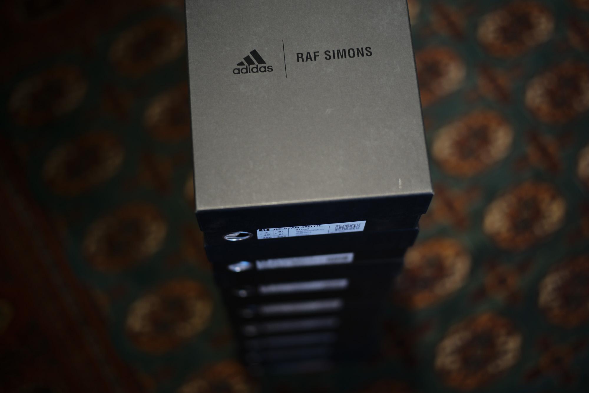 adidas by RAF SIMONS (アディダス バイ ラフシモンズ) RS STAN SMITH (RS スタンスミス) B42012 レザー スニーカー MISSTO/MISSTO/CBLACK (ミスト) 2018 春夏新作 adidas rafsimons ラフシモンズ 愛知 名古屋 Alto e Diritto アルト エ デリット alto e dritto アルトエデリット