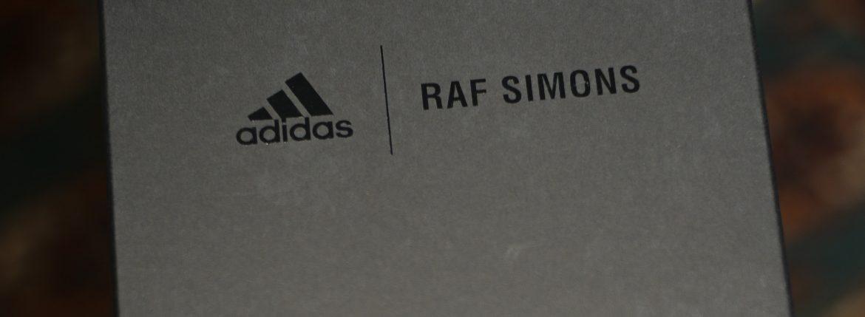adidas by RAF SIMONS (アディダス バイ ラフシモンズ) RS STAN SMITH (RS スタンスミス) B22543 レザー スニーカー FTWWHT/NGTSKY/FTWWHT (ホワイト / ネイビー) 2018 春夏新作のイメージ