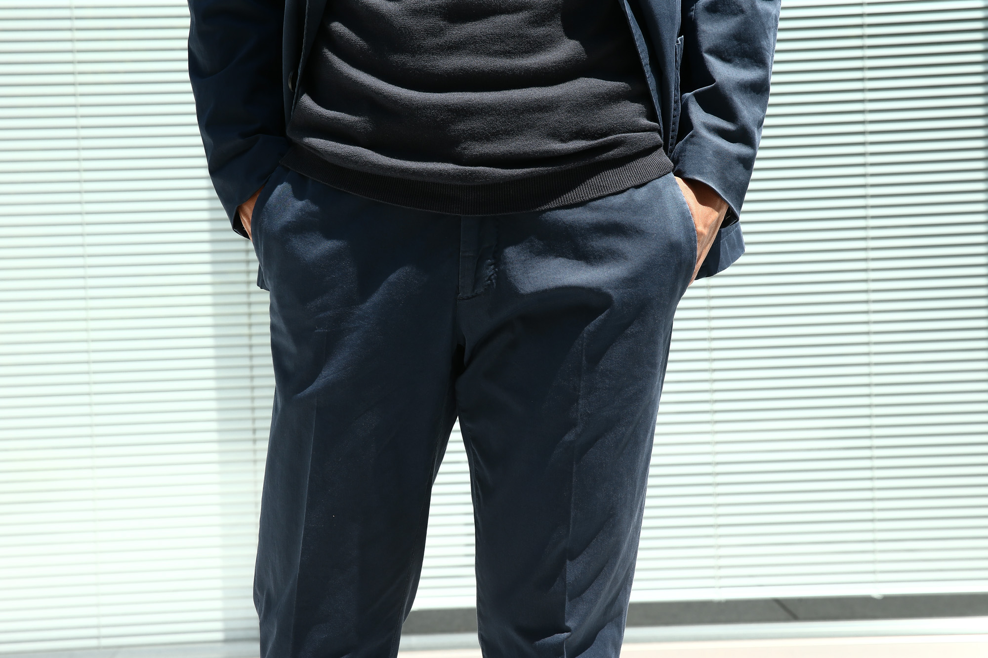 BOGLIOLI MILANO (ボリオリ ミラノ) K.JACKET (Kジャケット) ストレッチ コットン ツイル 3B スーツ NAVY (ネイビー・73) Made in italy (イタリア製) 2018 春夏新作 boglioli ボリオリ 愛知 名古屋 ZODIAC ゾディアック alto e diritto アルトエデリット