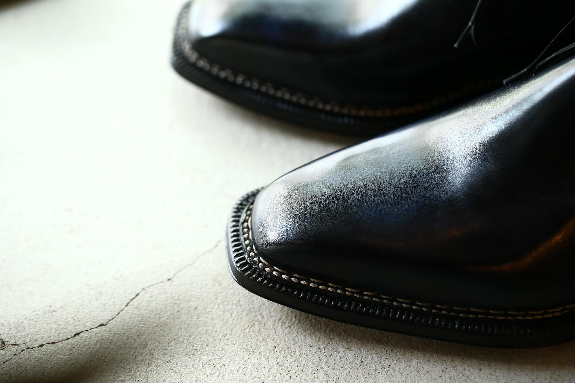 ENZO BONAFE (エンツォボナフェ) ART.3722 Chukka boots Bonaudo Museum Calf Leather ボナウド社 ミュージアムカーフレザー ノルベジェーゼ製法 レザーソール チャッカブーツ DEEP BLUE (ディープブルー) made in Italy(イタリア製) 2018 春夏新作 enzobonafe エンツォボナフェ チャッカブーツ ミュージアムカーフ チャッカブーツ 愛知 名古屋 Alto e Diritto アルト エ デリット alto e diritto アルトエデリット