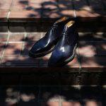 ENZO BONAFE (エンツォボナフェ) ART.3722 Chukka boots Bonaudo Museum Calf Leather ボナウド社 ミュージアムカーフレザー ノルベジェーゼ製法 レザーソール チャッカブーツ DEEP BLUE (ディープブルー) made in Italy(イタリア製) 2018 春夏新作のイメージ