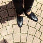 ENZO BONAFE(エンツォボナフェ) ART. EB-08 Coin Loafer コインローファー LAMA ラマレザー ドレスシューズ ローファー NERO(ブラック) made in italy (イタリア製) 2019 春夏 【ご予約受付中】のイメージ