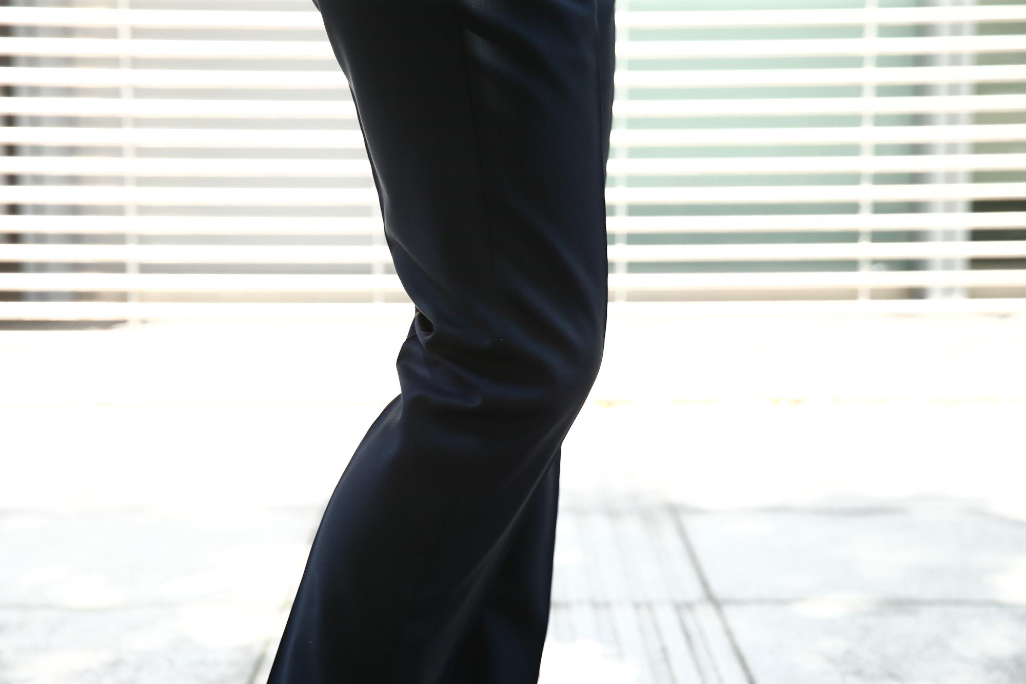 ISAIA (イザイア) 【GREGORY / グレゴリー】 AQUA SPIDER (アクア スパイダー) 撥水 ストレッチ サマーウール 段返り3B スーツ NAVY (ネイビー・800) Made in italy (イタリア製) 2018 春夏新作 isaia イザイア 愛知 名古屋 ZODIAC ゾディアック スーツ ジャケット 42,44,46,48,50,52,54