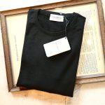 JOHN SMEDLEY (ジョンスメドレー) SICILY (シシリー) 30G Merino Wool (30ゲージメリノウール) クルーネックセーター BLACK (ブラック) Made in England (イギリス製) 2018 秋冬のイメージ