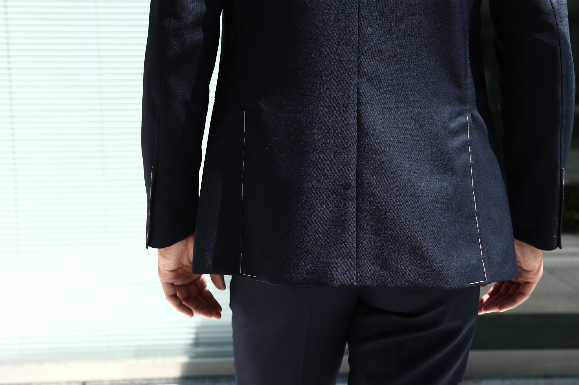 LARDINI (ラルディーニ) SARTORIA (サルトリア) トロピカル サマーウール 段返り3B サマー スーツ NAVY (ネイビー・5) Made in italy (イタリア製) 2018 春夏新作 lardini ラルディーニ  愛知 名古屋 Alto e Diritto アルト エ デリット