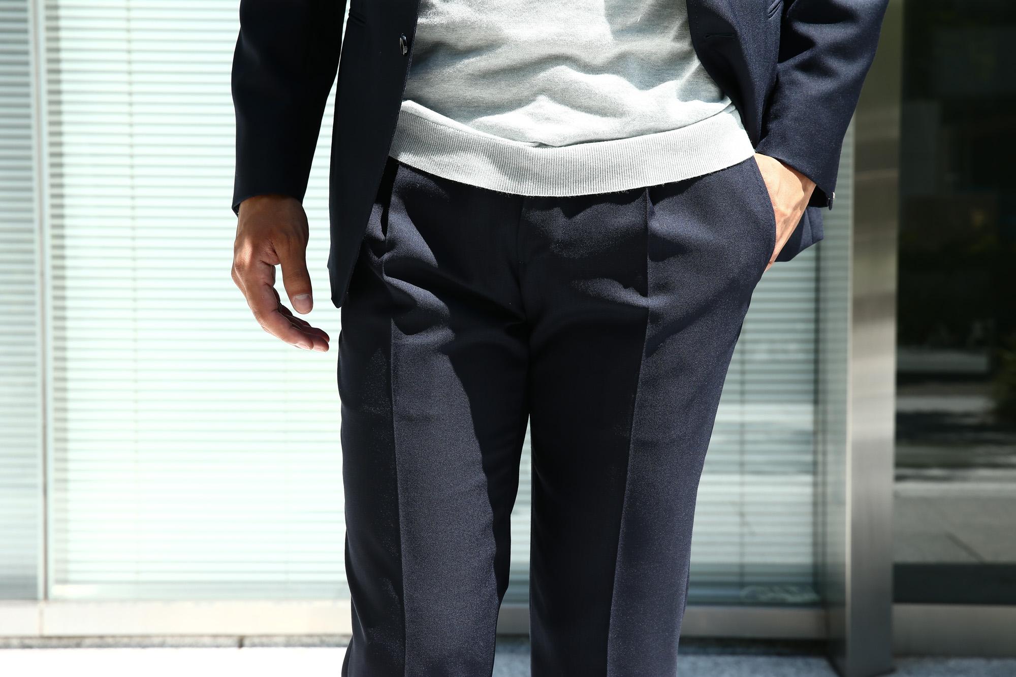 LARDINI (ラルディーニ) SARTORIA (サルトリア) トロピカル サマーウール 段返り3B サマー スーツ NAVY (ネイビー・5) Made in italy (イタリア製) 2018 春夏新作 lardini ラルディーニ  愛知 名古屋 ZODIAC ゾディアック