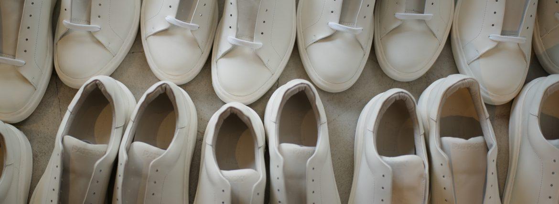 PATRICK(パトリック) CRUISE LINE クルーズライン GENOVA (ジェノバ) Annonay Vocalou Calf Leather (アノネイ社 ボカルーカーフ レザー) ローカット レザー スニーカー WHITE (ホワイト・WHT) MADE IN JAPAN(日本製) 2018 春夏新作 【第1便入荷しました】【7月下旬入荷分ご予約受付中】【8月下旬入荷分ご予約受付中】のイメージ